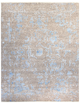 F.J. Kashanian One of a Kind Raquel Hand-Knotted Wool and Silk Rug