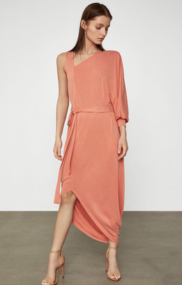 BCBGMAXAZRIA Single Sleeve Jersey Dress