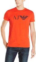 Armani Jeans Men's Aj Eagle Logo T-Shirt