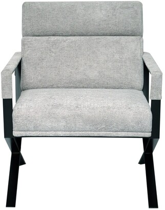Safavieh Couture Rusty X Base Accent Chair