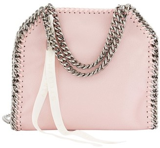 Stella McCartney Mini Stella Logo cross body bag