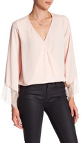 Eight Sixty Lace Bell Sleeve Blouse