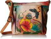 Anuschka Anna by Handpainted Leather Medium Travel Organizer
