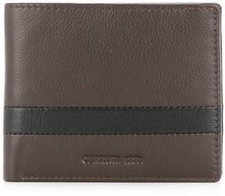 Cerruti Stripe Detail Bifold Wallet