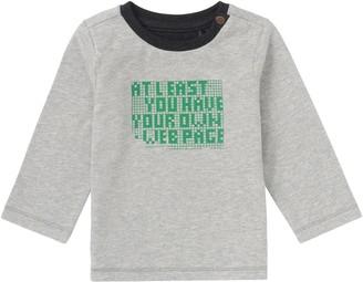 Noppies Baby and Kids Boys Longsleeve Insica Grey Melange