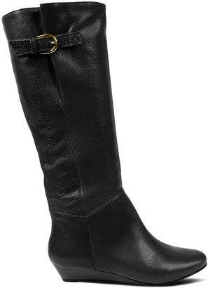 Steve Madden Intyce Black Leather