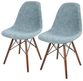 Lumisource Brady Duo Mid-Century Dining Chairs (Set of 2)