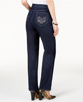 JM Collection Embellished Sophie Wash Jeans, Only at Macy's