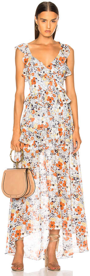 Alexis Jewell Dress in Vintage Blossom | FWRD