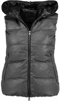 Duvetica Febedue Hooded Quilted Wool And Cashmere-Blend Gilet