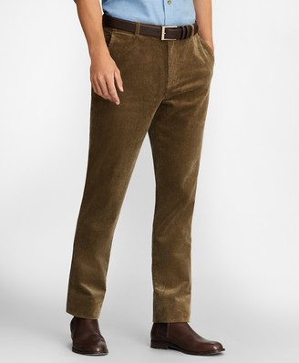 Brooks Brothers Milano Fit Wide Wale Stretch Corduroys