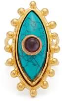 SYLVIA TOLEDANO Evil Eye gold-plated ring