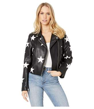 Blank NYC Black and White Star Jacket in the End Game