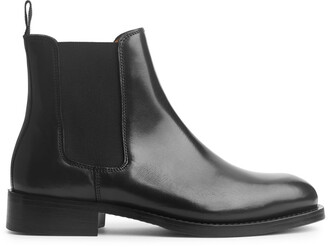Arket Leather Chelsea Boots