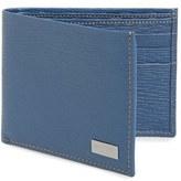 Salvatore Ferragamo Men's 'Revival' Bifold Leather Wallet - Blue