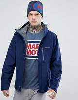 Marmot Minimalist Gore-Tex Hooded Jacket In Navy