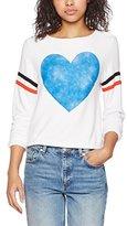 Wildfox Couture Women's Classic Heart Sweatshirt