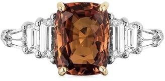 Bayco Cushion Sapphire Diamond Ring