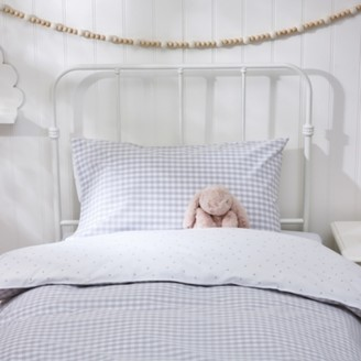 The White Company Classic Pillowcase, Grey, Standard