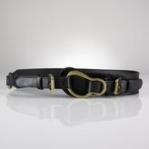 Saddle Leather Equestrian Belt
