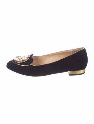 Charlotte Olympia Eclipse Loafer Flats Black