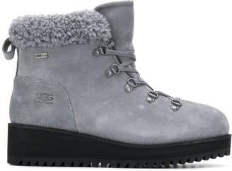 UGG shearling mountain boots