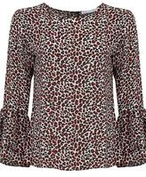Lily & Lionel Ella Blouse in Leila Leopard Print