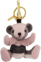 Burberry Pink Thomas Check Keychain