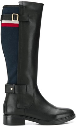 Tommy Hilfiger Blanket Detail knee-high boots