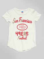Junk Food Clothing Kids Girls Nfl San Francisco 49ers Tee-sugar-xxl