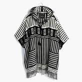 Madewell Striped Blanket Poncho