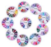 Cheeky Nail Art Super Set of 10 Wheels, Multi - Pack of 3