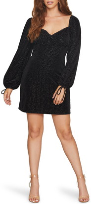 Lost + Wander Starlit Evenings Long Sleeve Minidress