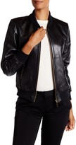Thomas Wylde Genuine Leather Bomber Jacket