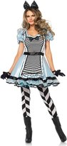 Leg Avenue Women's Hypnotic Miss Alice Costume