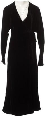 ATTICO Black Velvet Dresses