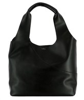 Hogan Women's Black Leather Tote.