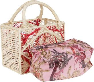 Sensi Multicolor Straw Bag