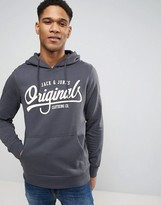 Jack and Jones Originals Hoodie With Graphic Print