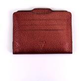 Atelier Hiva Double Card Holder Metallic Burgundy & Metallic Burgundy