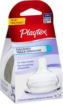 Playtex Full-Sized Nipple, Medium Flow, 2-Count by