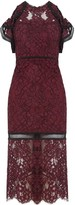 Alexis Evie Dress in Burgundy