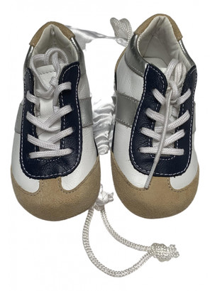 Tod's White Leather Trainers