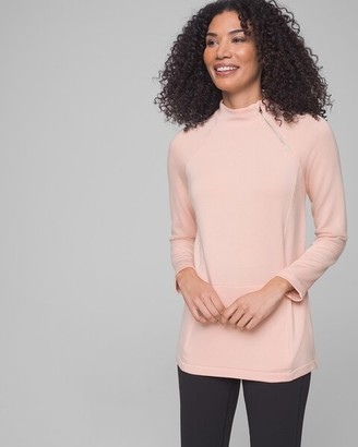 Soma Intimates Fine Fleece Pullover Rose Blush