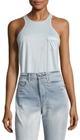 Helmut Lang Halter Patch Pocket Tank