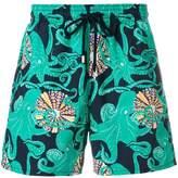 Vilebrequin octapus print swim shorts
