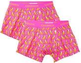 Godsen Men's Underwear 2 Pack Ultra Soft Cotton Classic Boxer Briefs L
