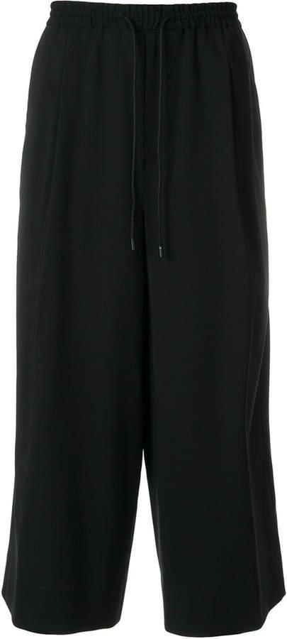 Juun.J wide leg cropped pants