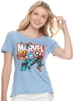 Marvel Juniors' Superheroes Graphic Tee