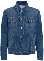 Dondup Don Dup Roodney Light Washed Denim Jacket